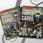Paranormal Exterminators Profile Cards