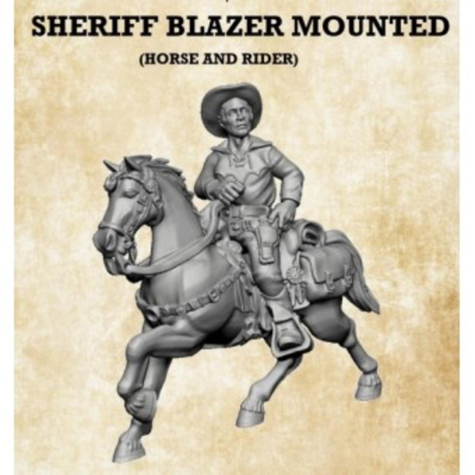 Sheriff Blazer Mounted