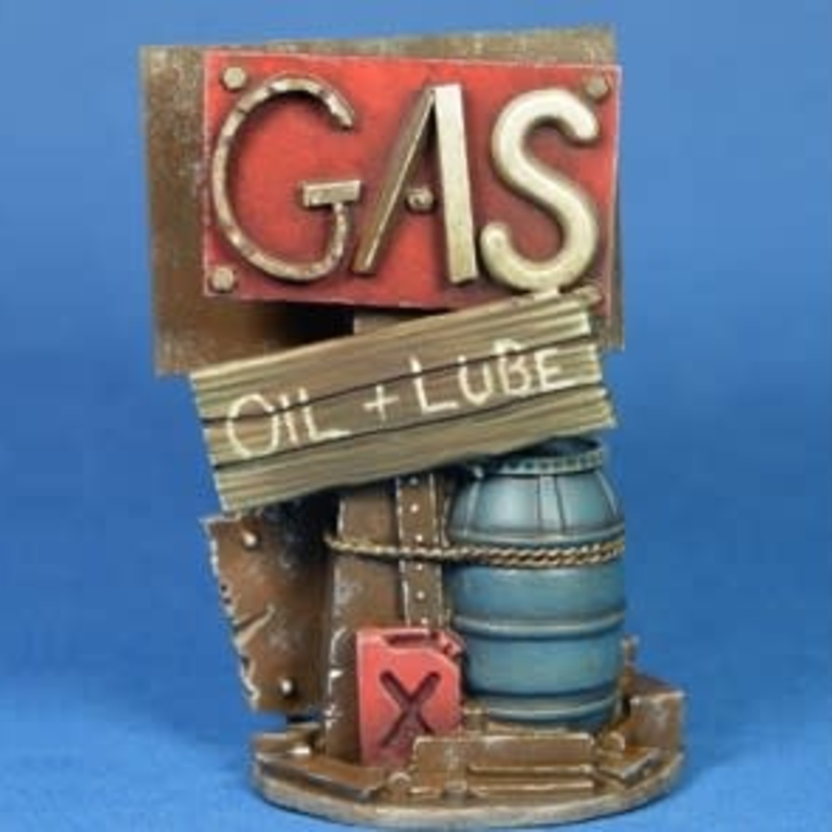 Sign 3 - Gas, H20