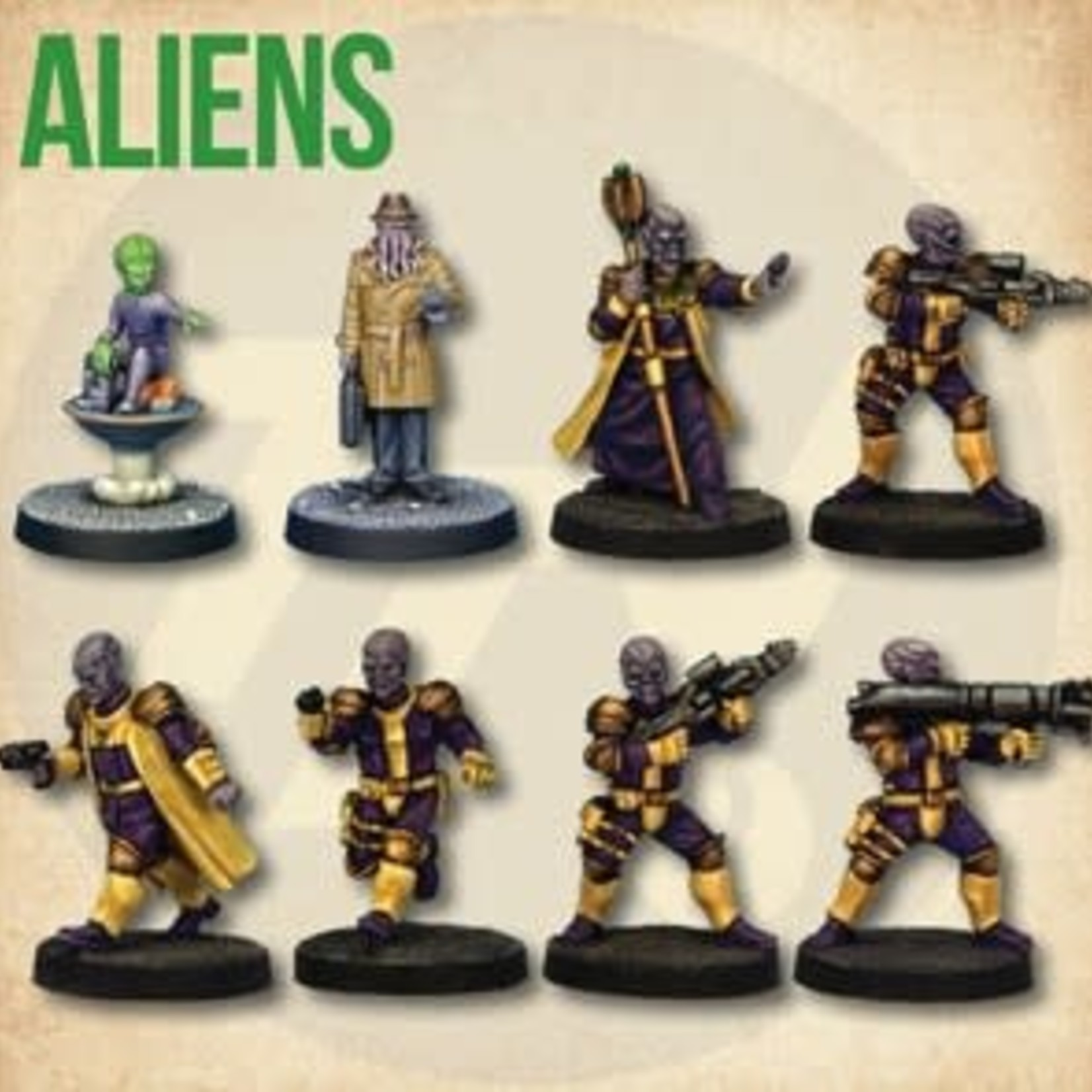 Starter Cast: Aliens