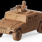 U.S. ARMY HUMVEE .50 Cal