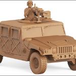 U.S. ARMY HUMVEE M19 Grenade Machine Gun