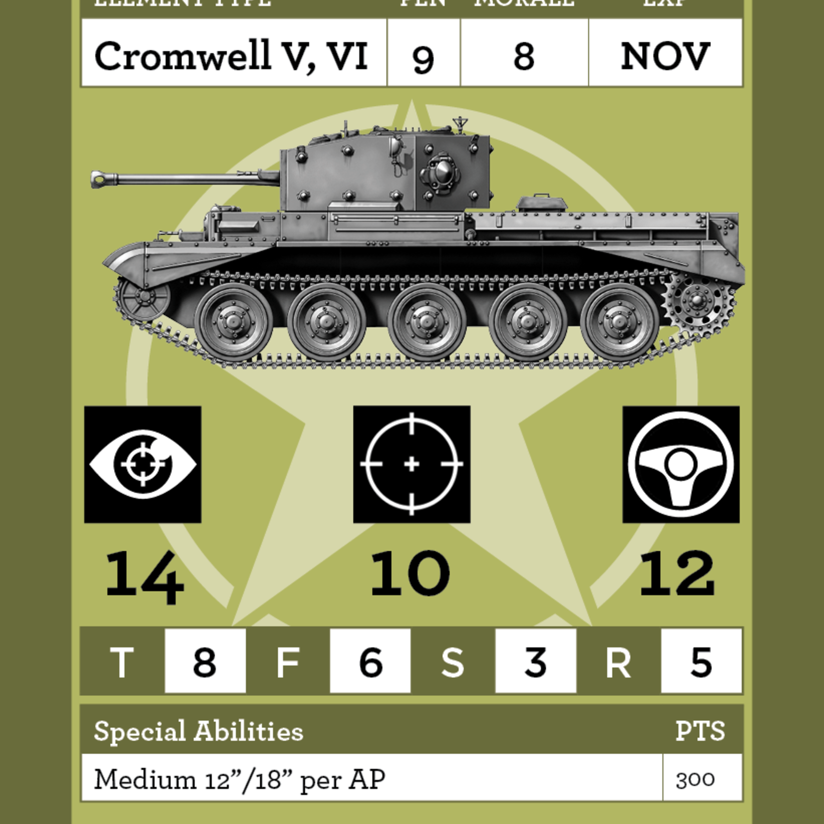 ULTRACOMBAT Normandy Allied Vehicle Deck