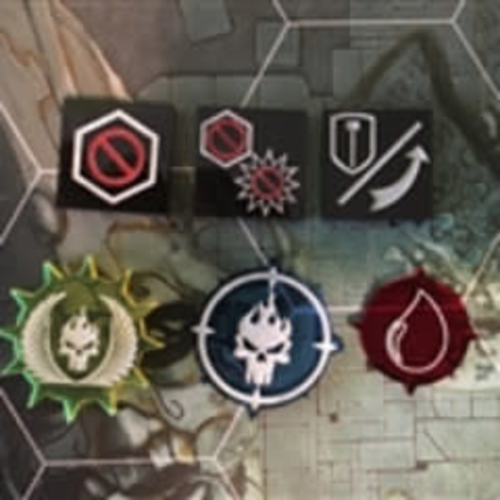 Shadespire Compatible Token Set