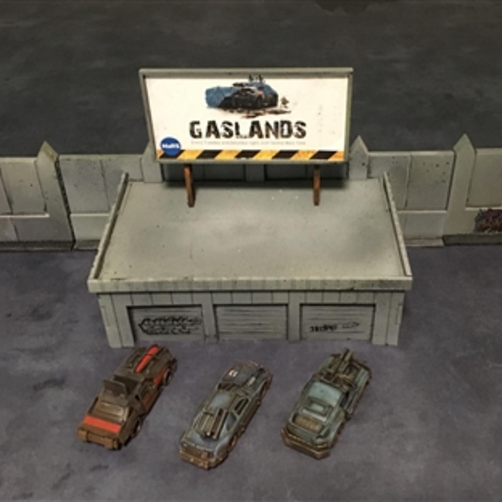 Gaslands Arena Paddock Set
