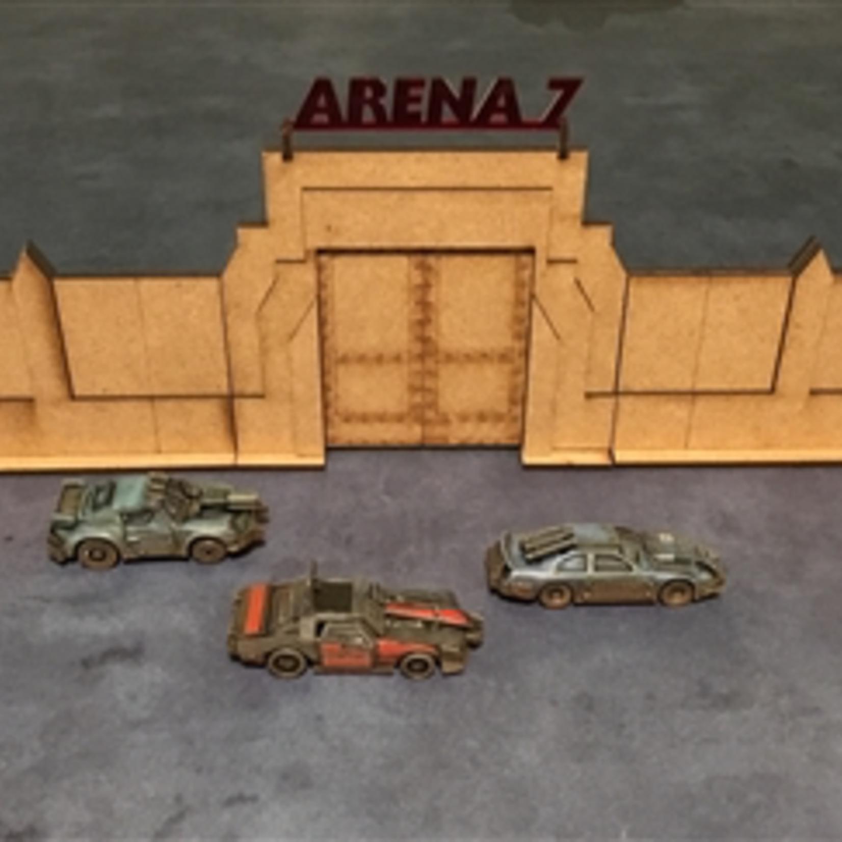Gaslands Arena Gate & Wall Set