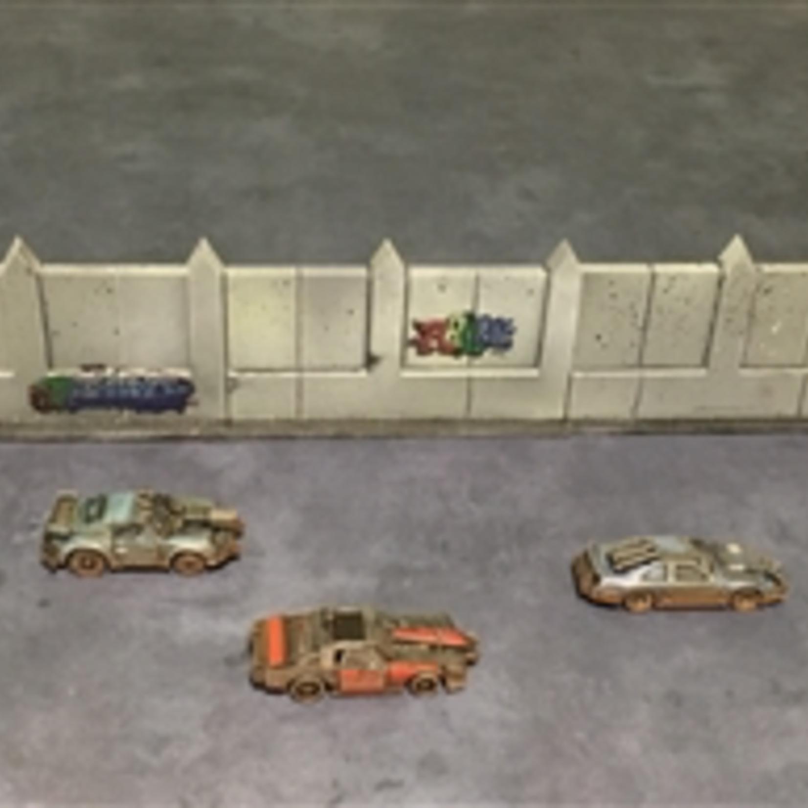 Gaslands Arena Wall Set