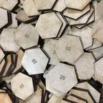 Hexagon 25mm MDF Bases