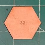 Hexagon 32mm MDF Bases
