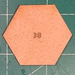 Hexagon 38mm MDF Bases