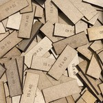 Rectangle 15 x 40mm MDF Bases