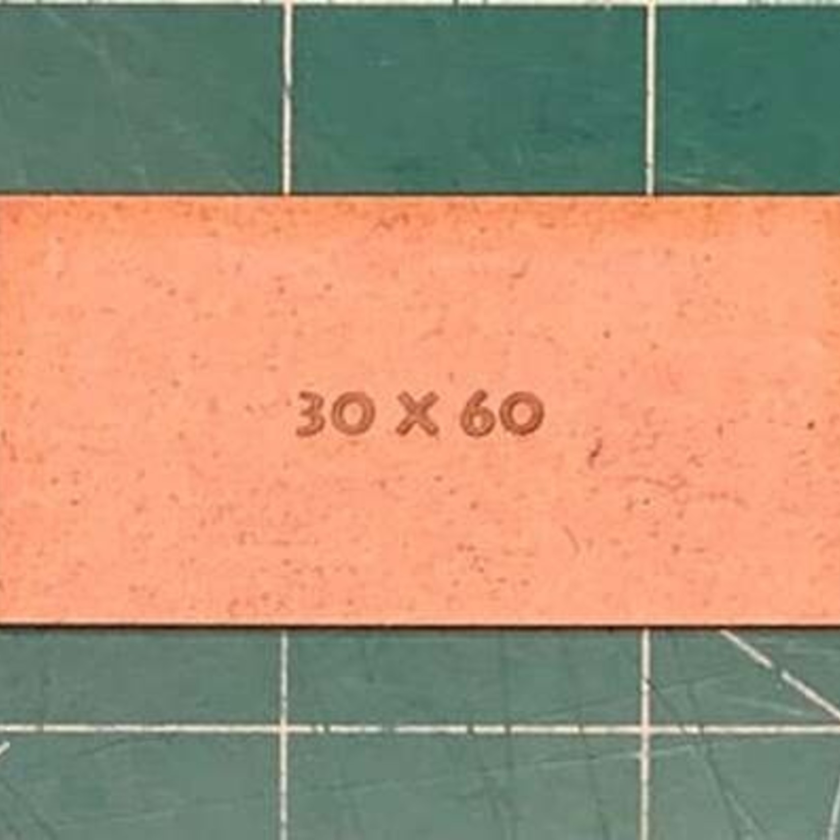 Rectangle 30 x 60mm MDF Bases