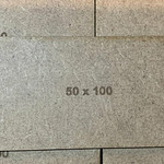 Rectangle 50 x 100mm MDF Bases