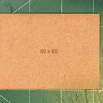 Rectangle 60 x 80mm MDF Bases