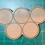 Pair of 25mm (5) Figure Movement Tray -3/2