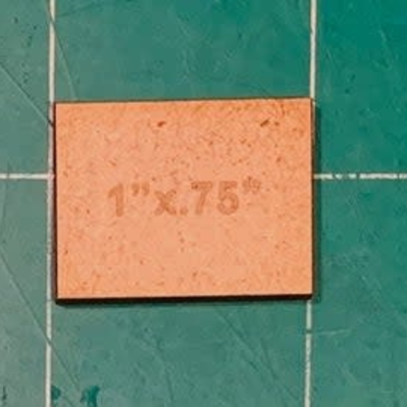 """Rectangle .75"""" x 1"""" MDF Bases"""
