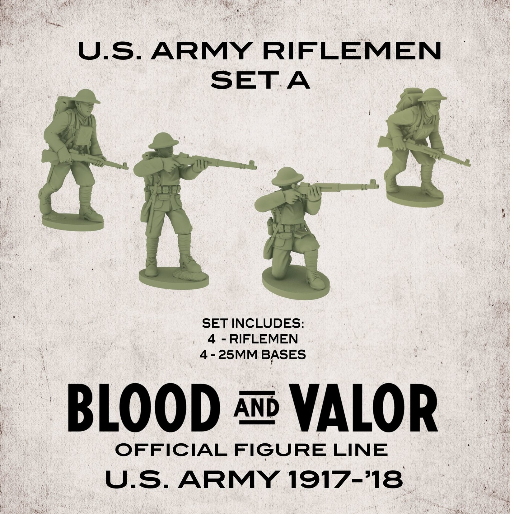 U.S. Army Riflemen Set A