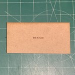Rectangle 60 x 120mm MDF Bases