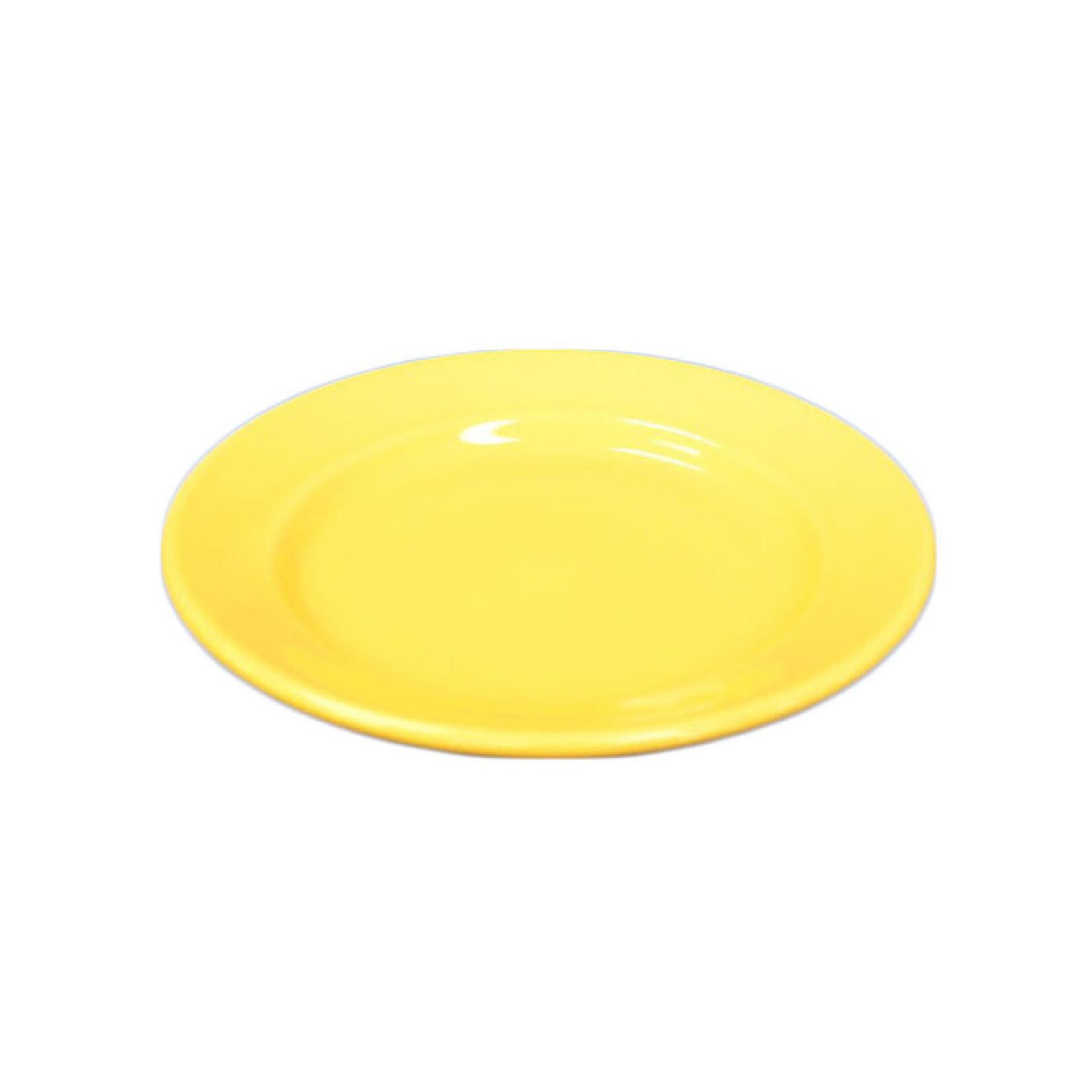 Yellow Ceramic Small Plate