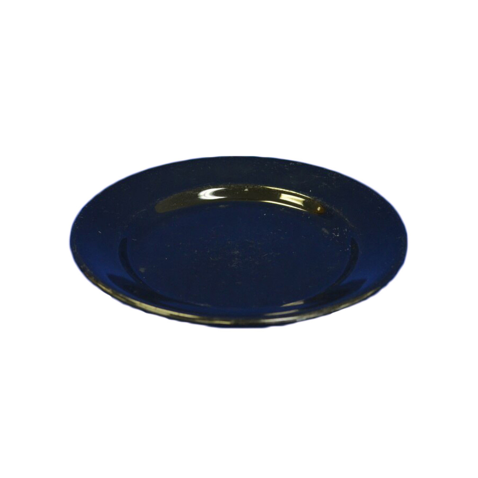 Black Ceramic Small Plate