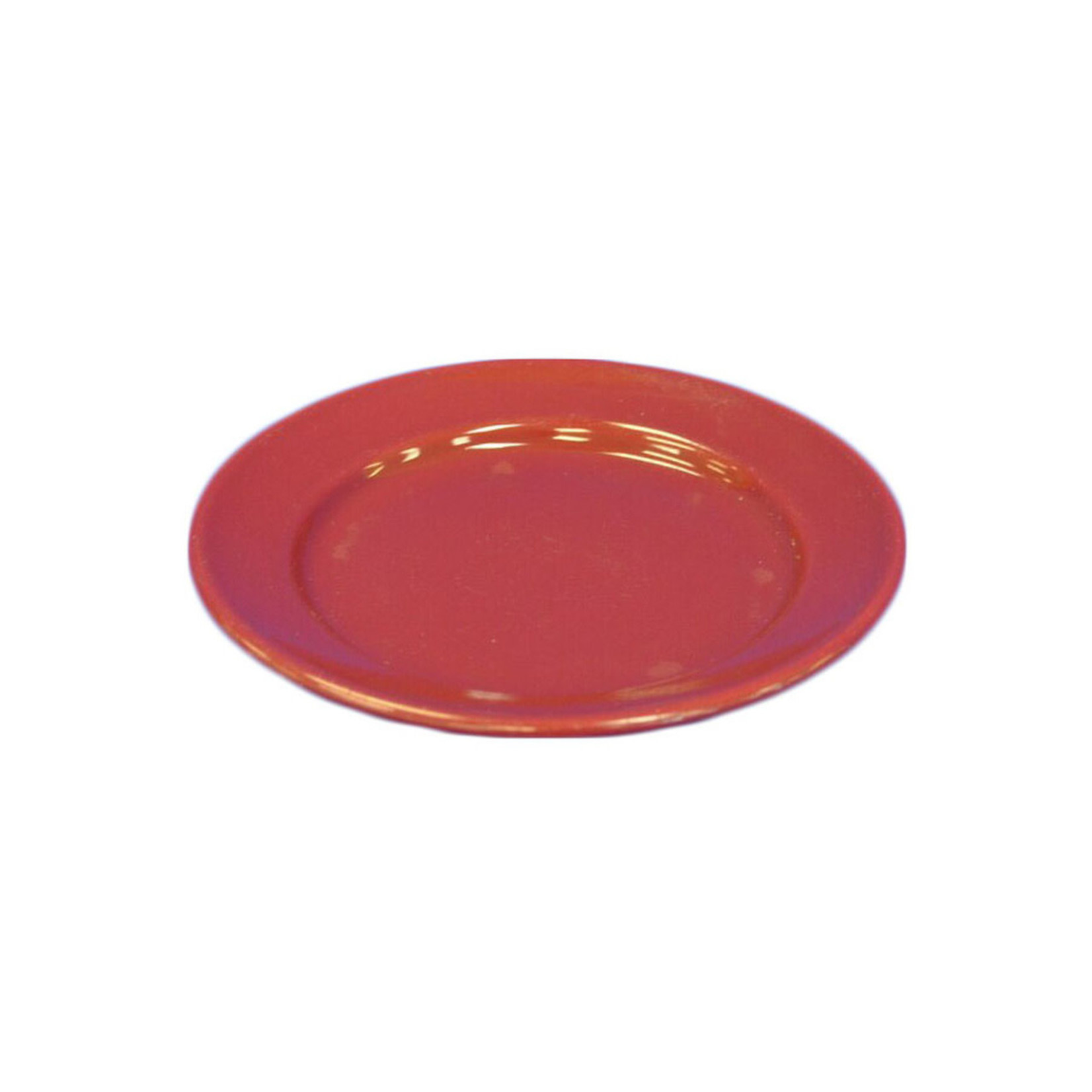 Red Ceramic Small Plate