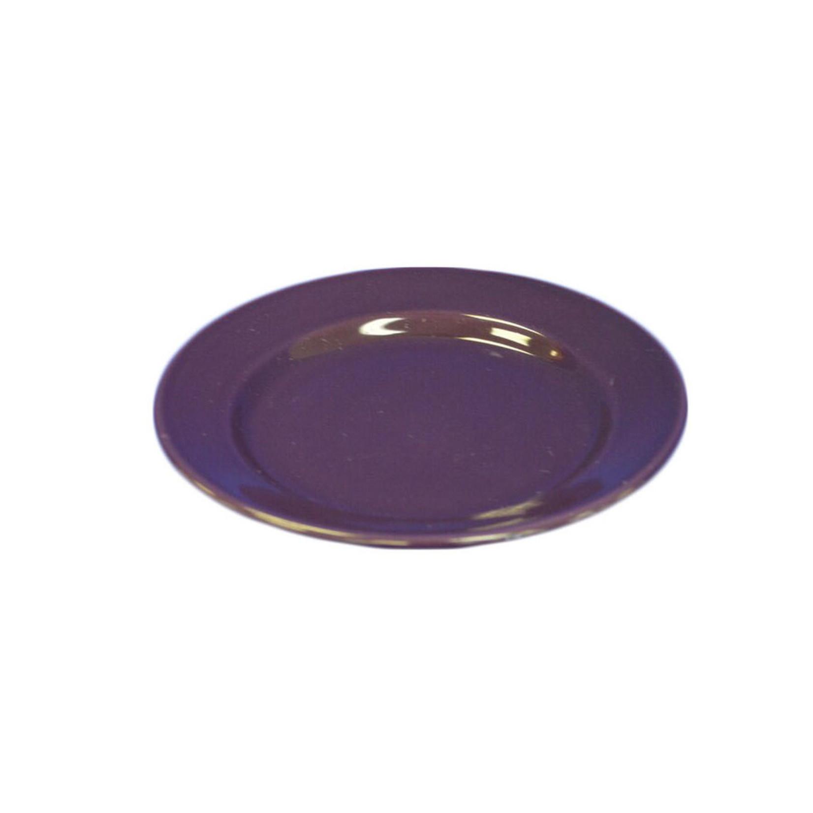 Purple Ceramic Small Plate