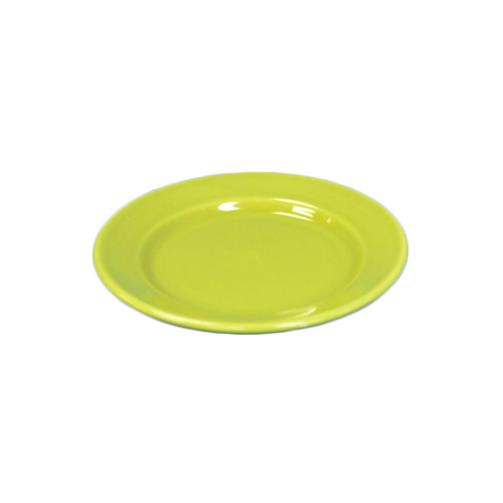 Green Ceramic Plate