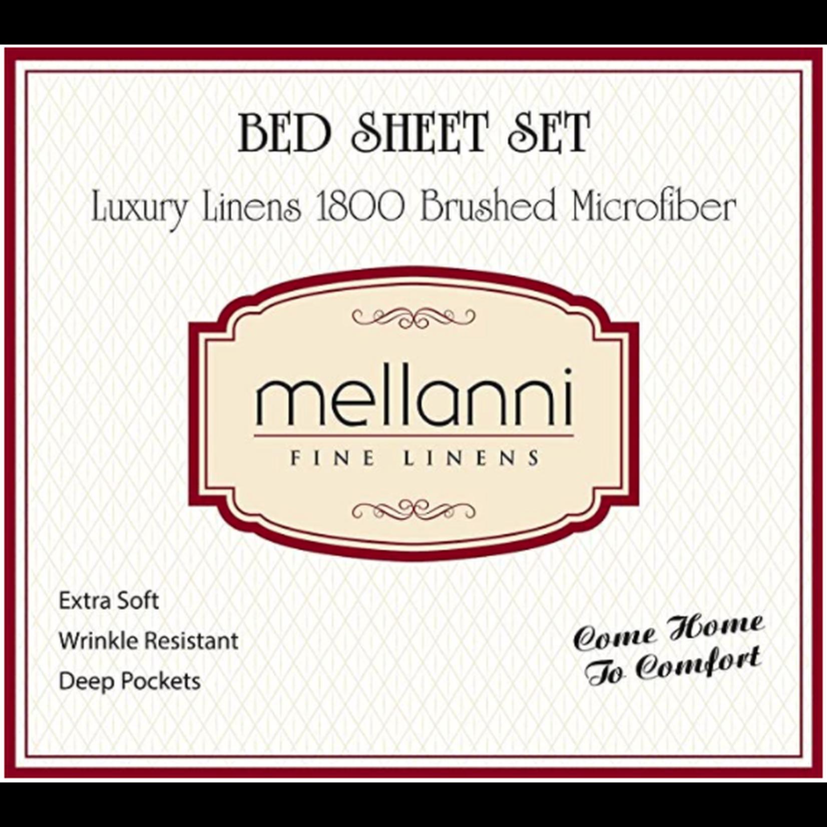 Mellanni Fine Linens Twin XL Bed Sheets