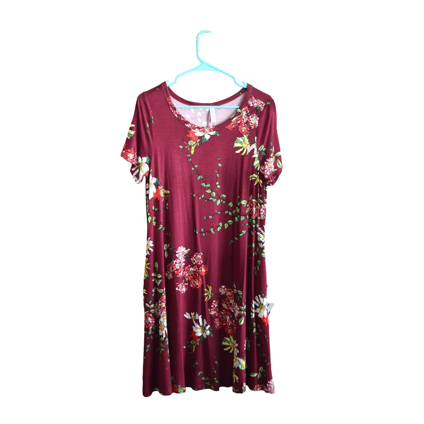 Korsis T-Shirt Dress - Large