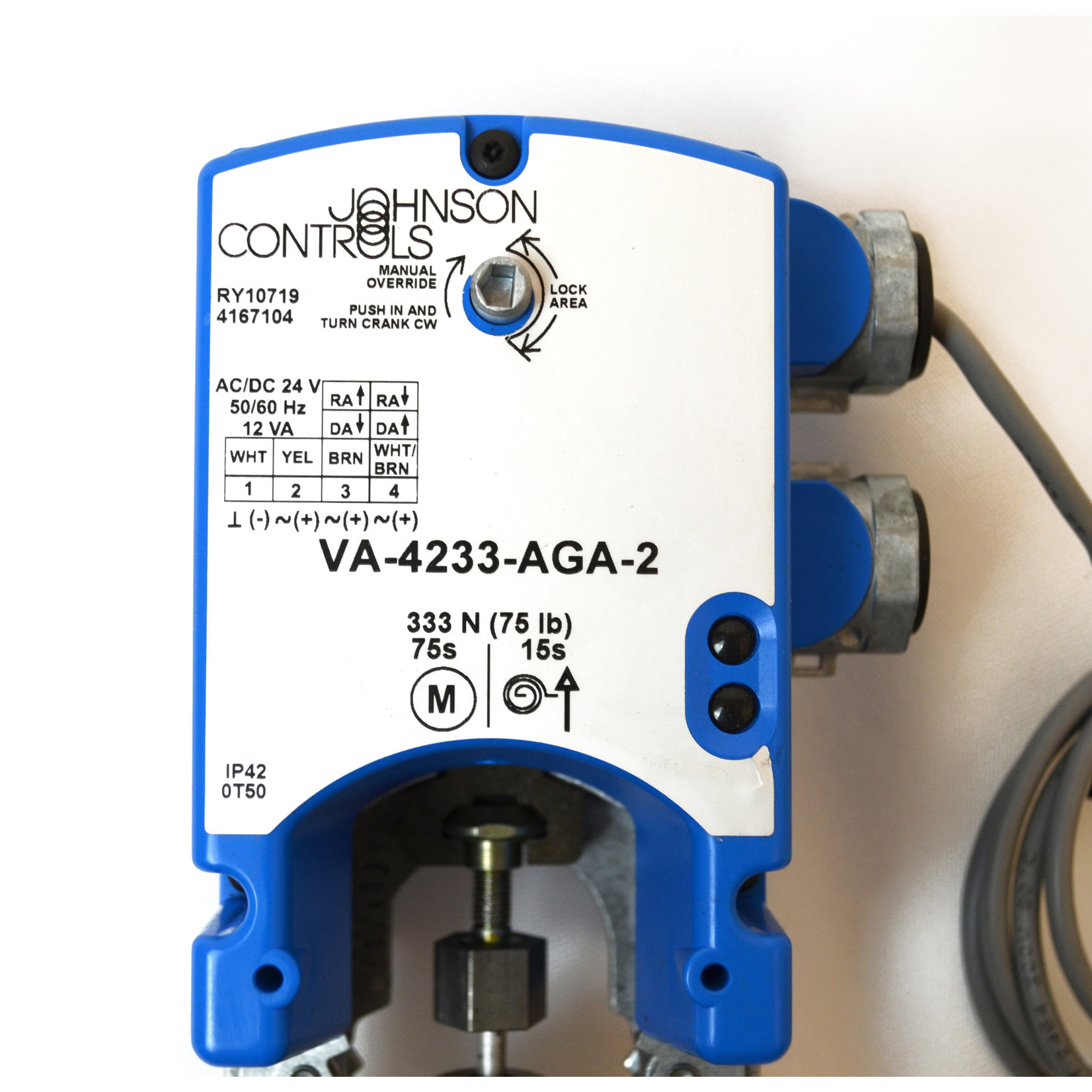 Johnson Controls Electric Mount