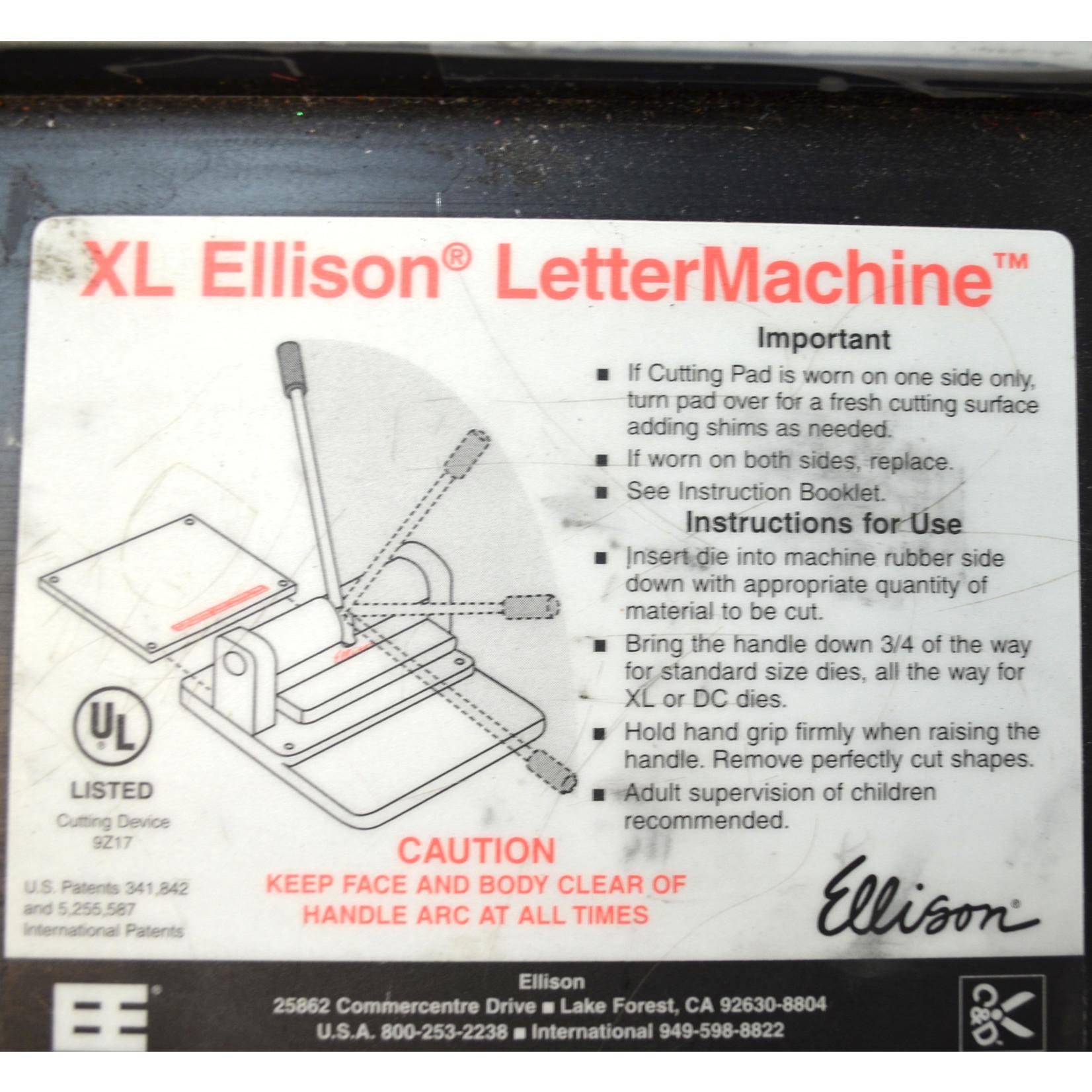 XL Ellison LetterMachine