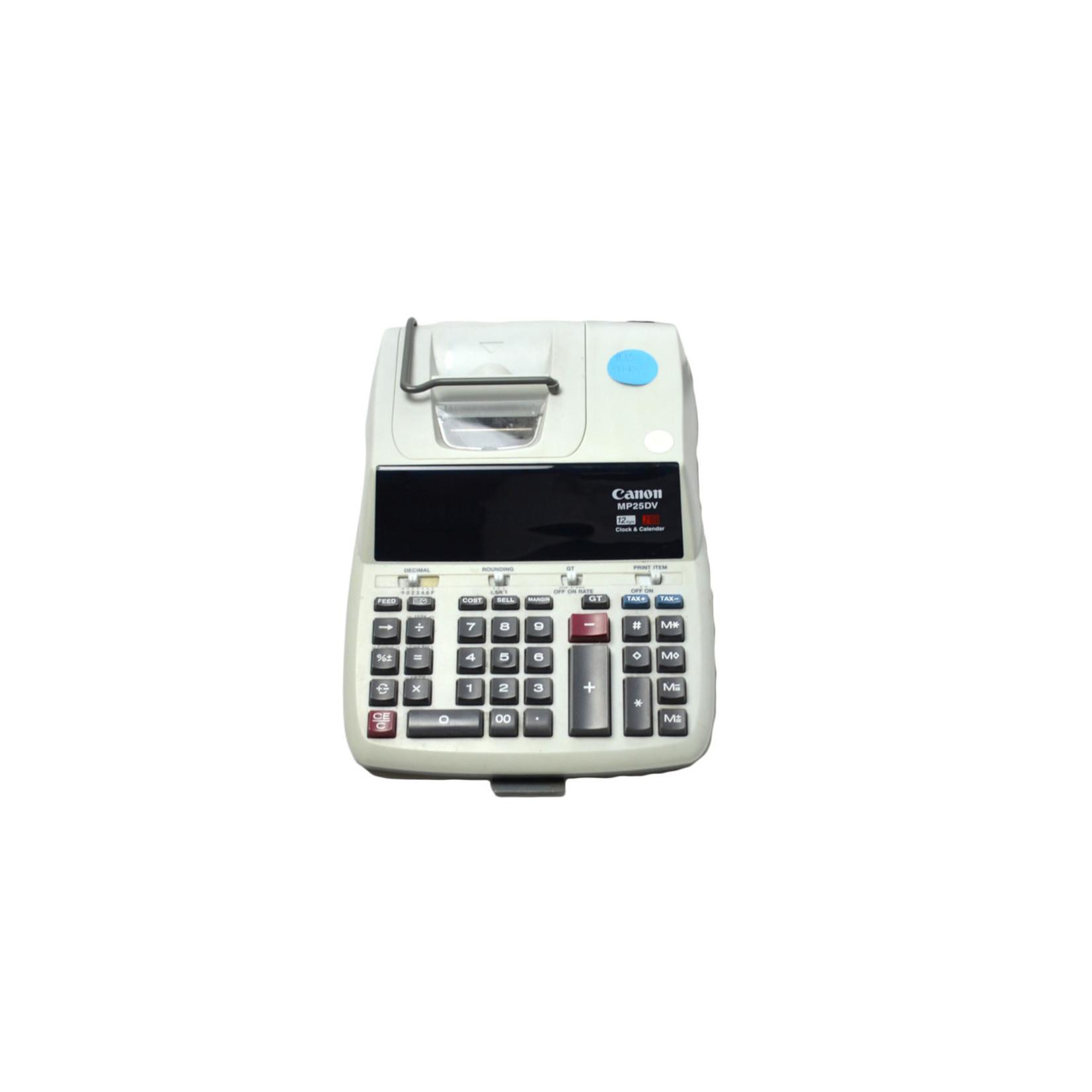 Canon Printing Calculator MP25DV
