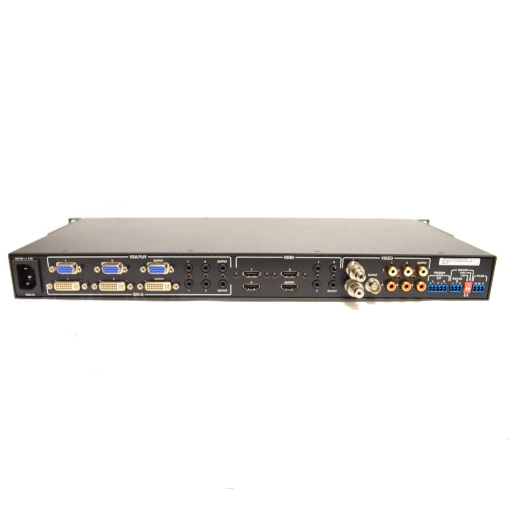 Extron MPS 409 Presentation Switcher