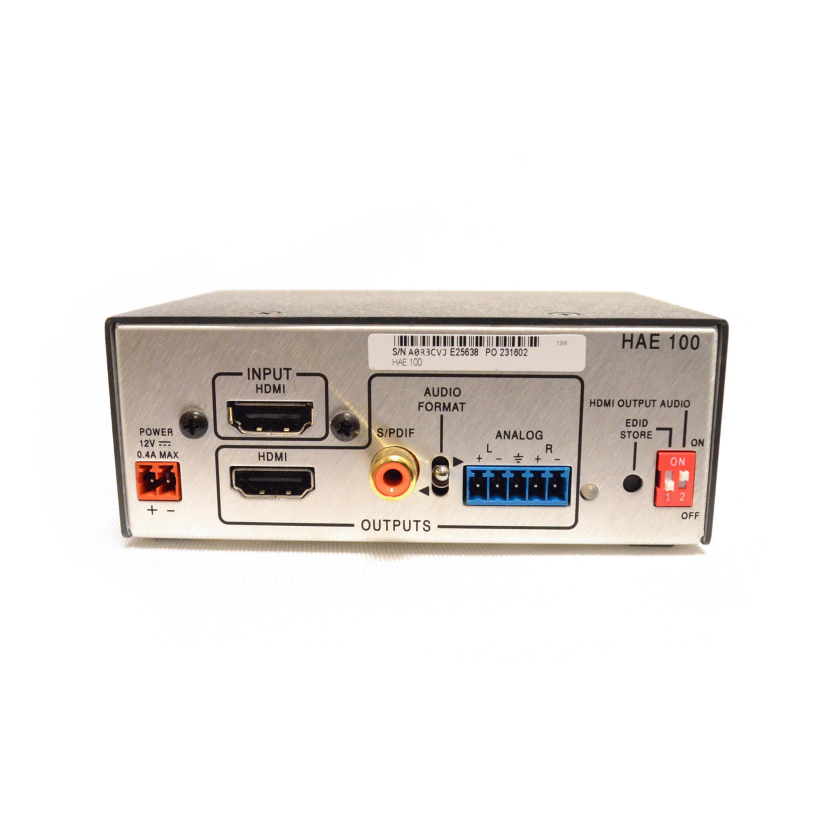 Extron HAE 100 Audio De-Embedder