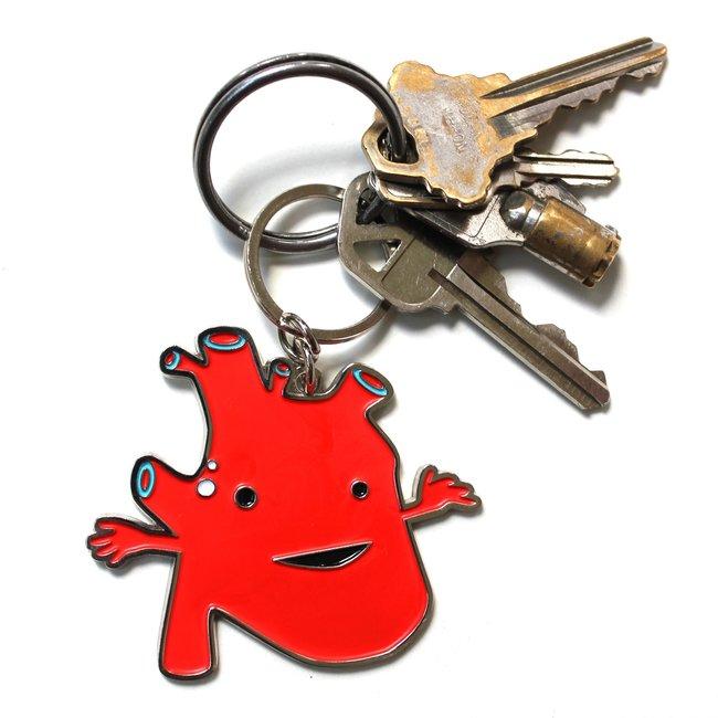 Heart Keychain - I Got the Beat