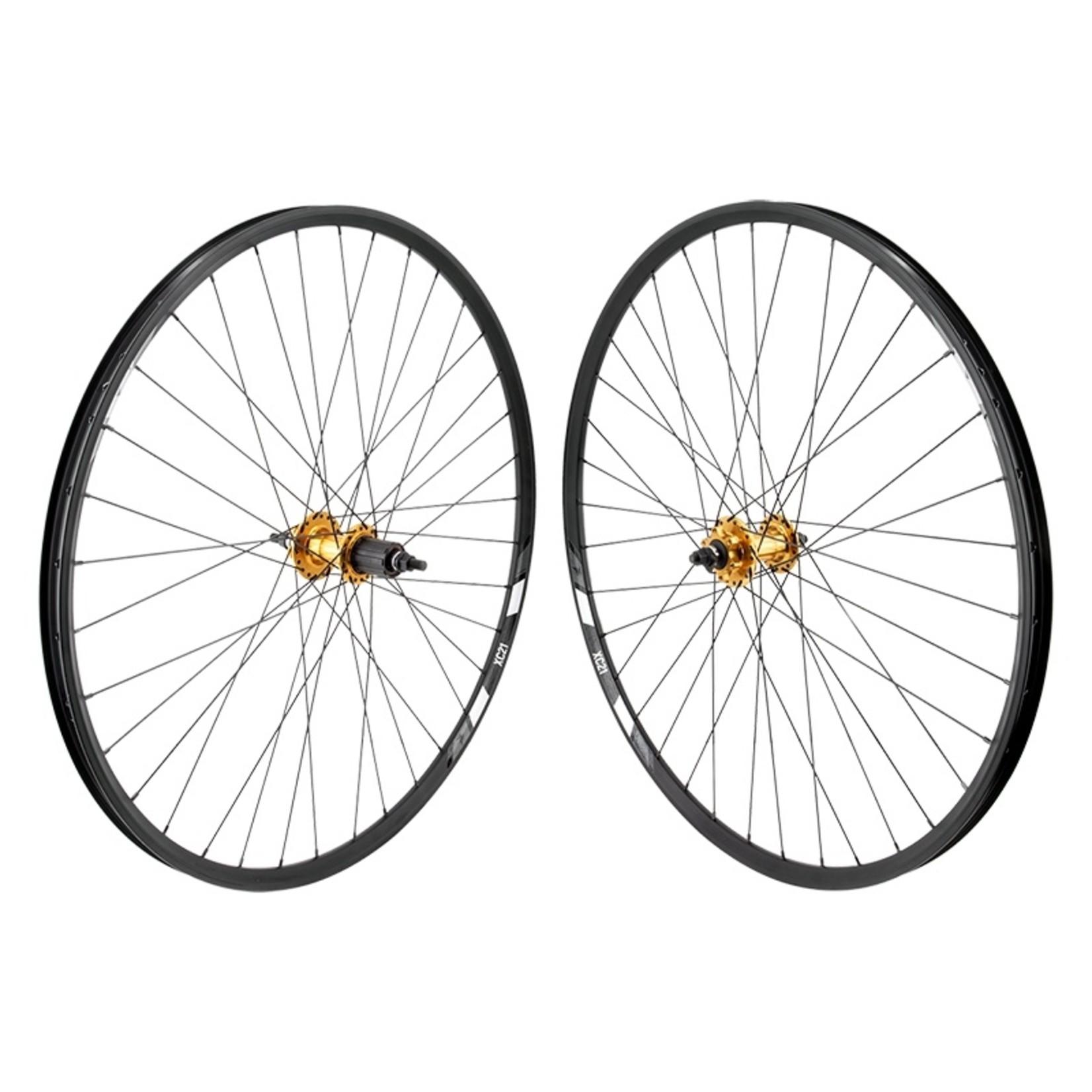 WHEEL MASTER Wheel Pair 29 622x21 WTB XC21 BK Disc 36 ALY 8-10sCAS 6B BO GD 135mm DTI2.0BK Not Tubeless