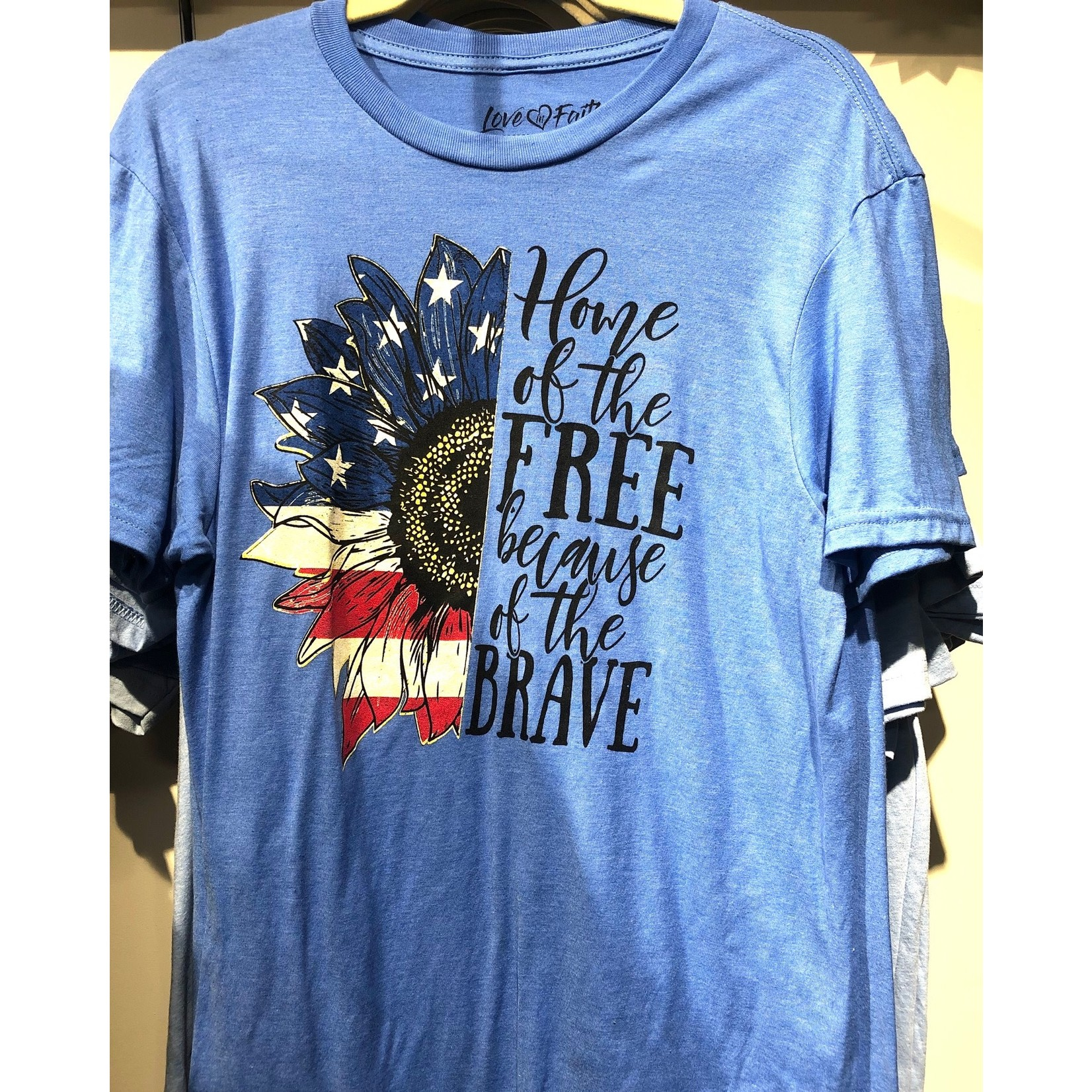 Home of The Free SS Tee