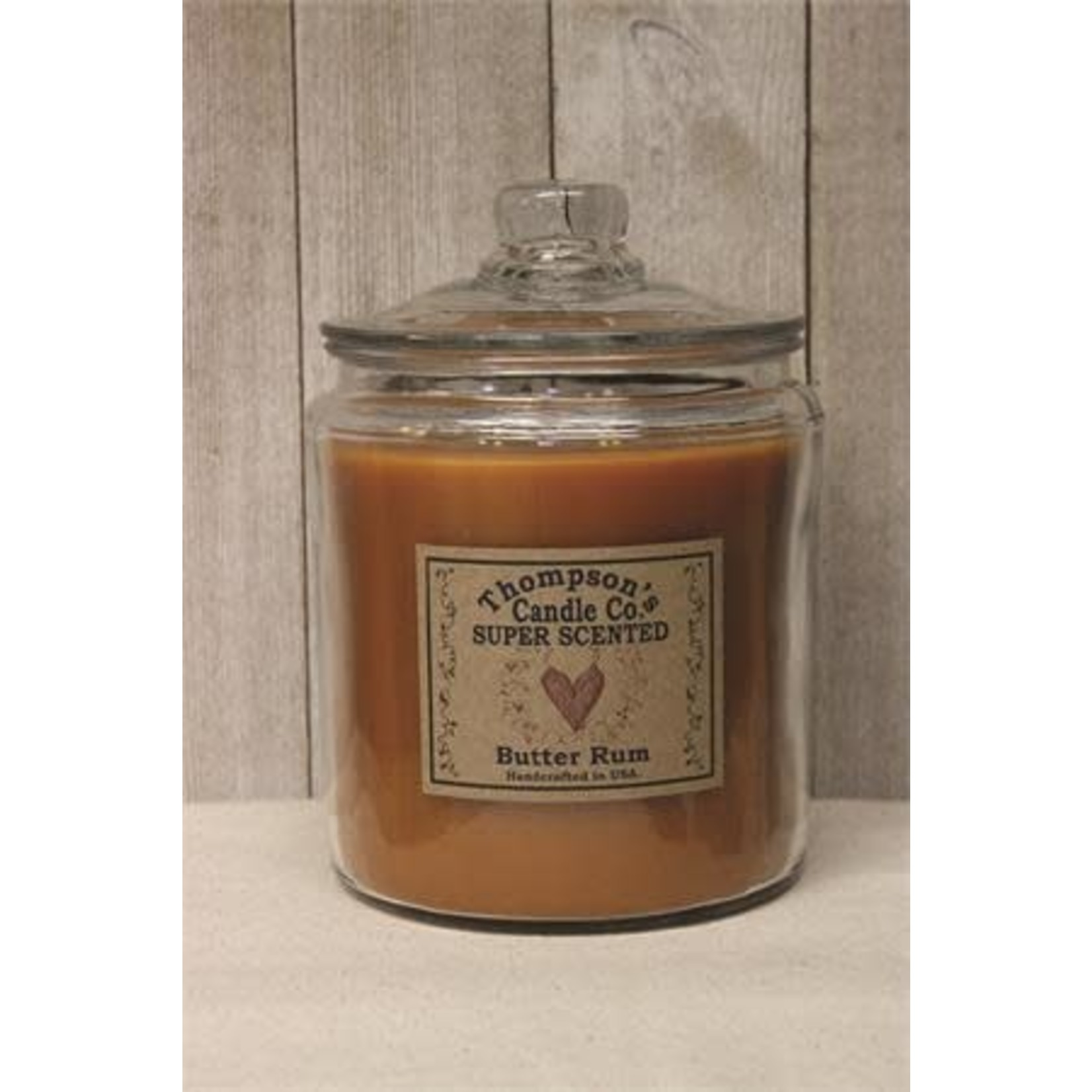 Thompson Candles Thompson Candle 3 Wick Herritage Jar Candle