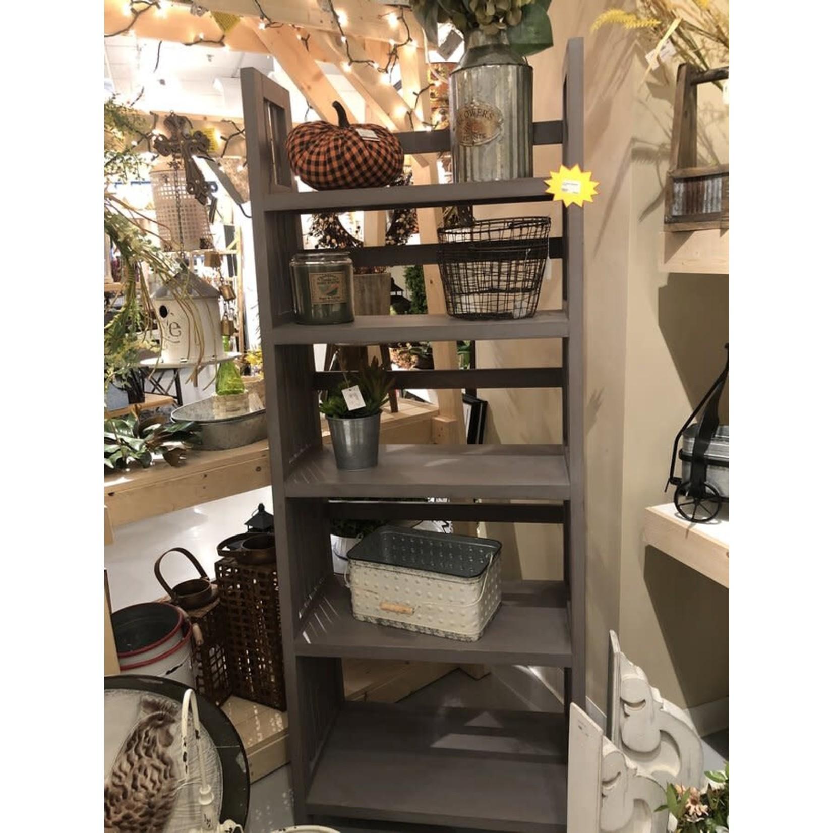 """72"""" Albany Bookcase (Gray)"""