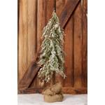 Snowy Tree in A Burlap Sack