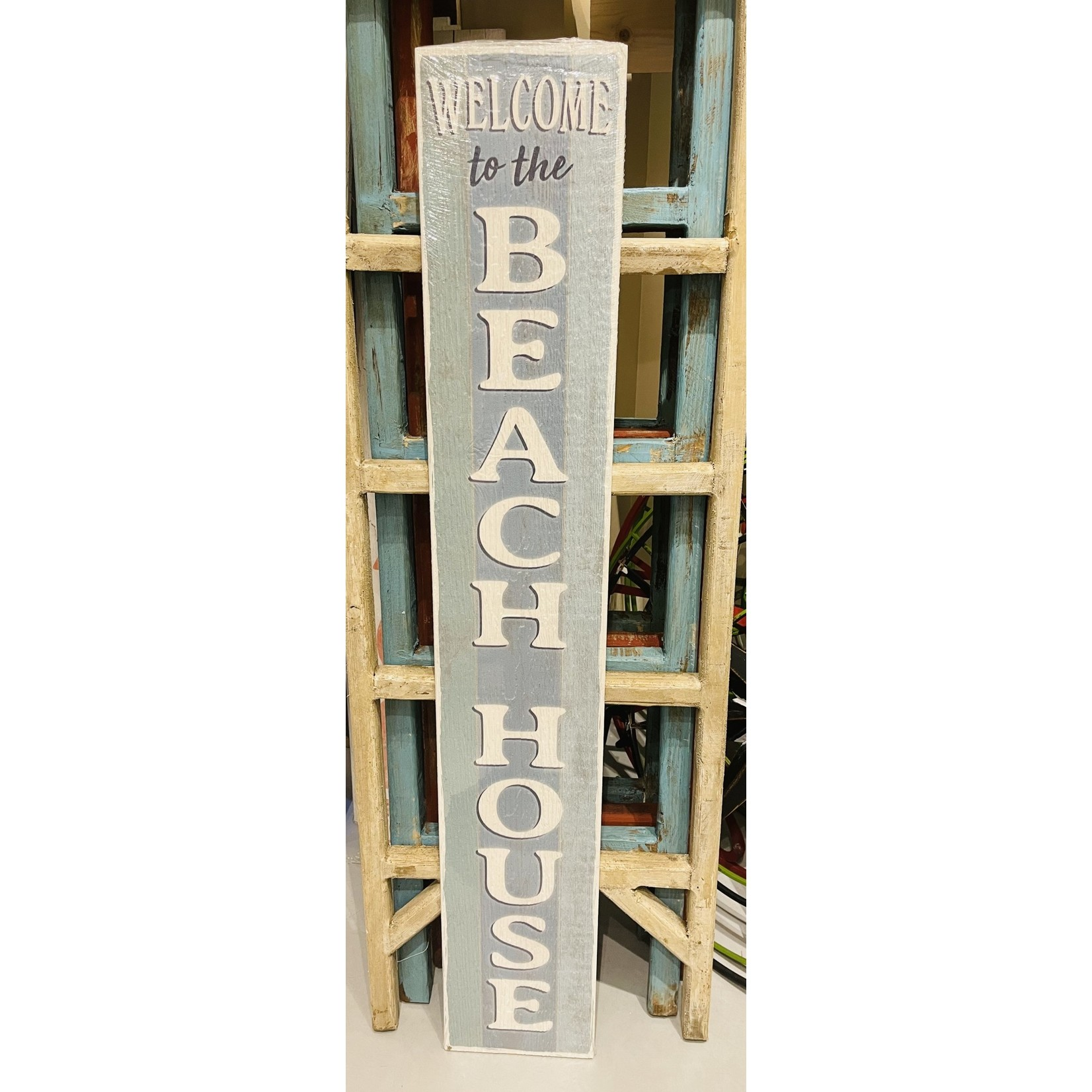 Welcome To The Beach House Porch Board