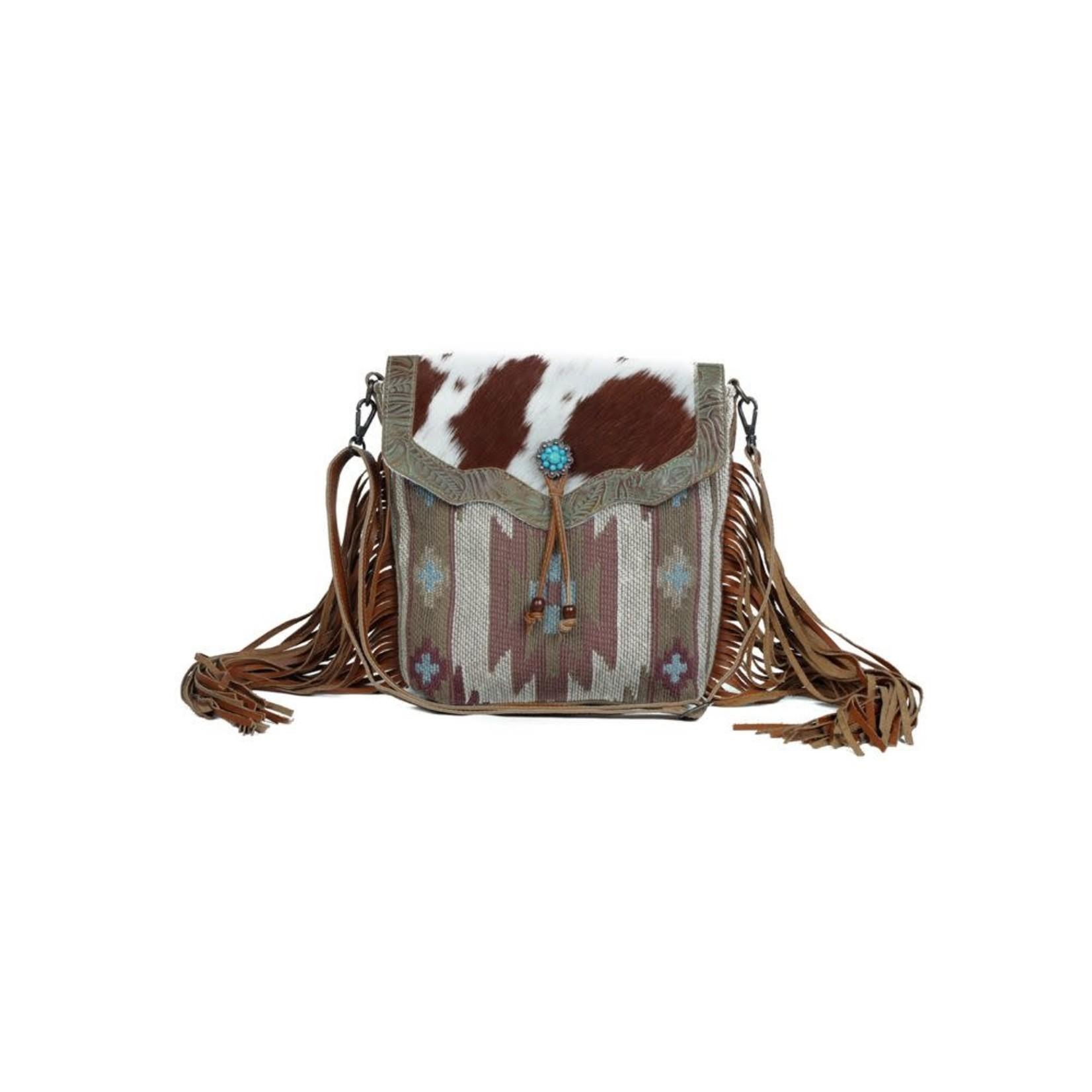 Myra Bags Myra Bags Serene Brown Handbag