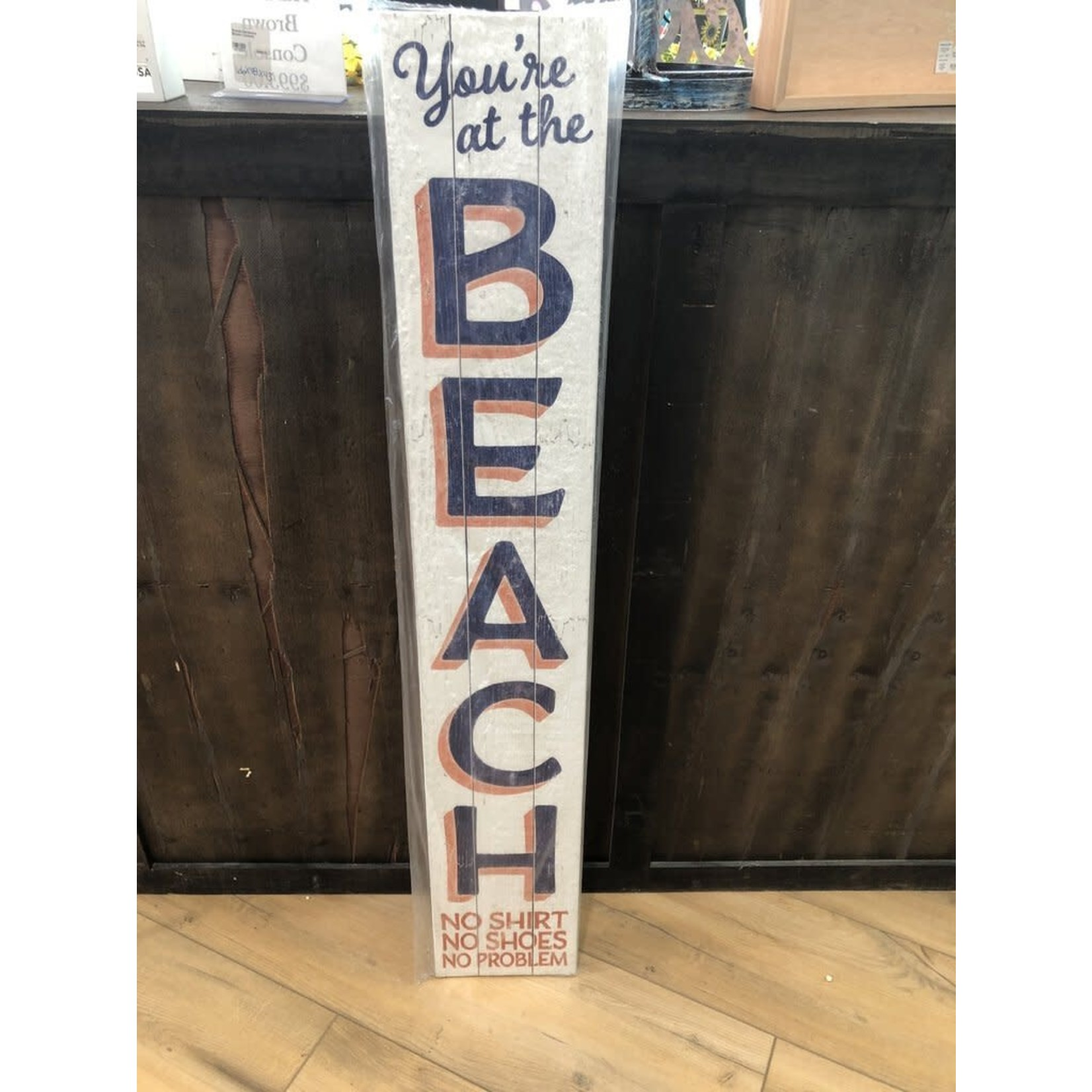 Your At The Beach Porch Board
