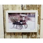 Grandpas Sleigh Sign 12x18