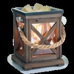 Edison Bulb Illumination Fragrance Warmer Walnut