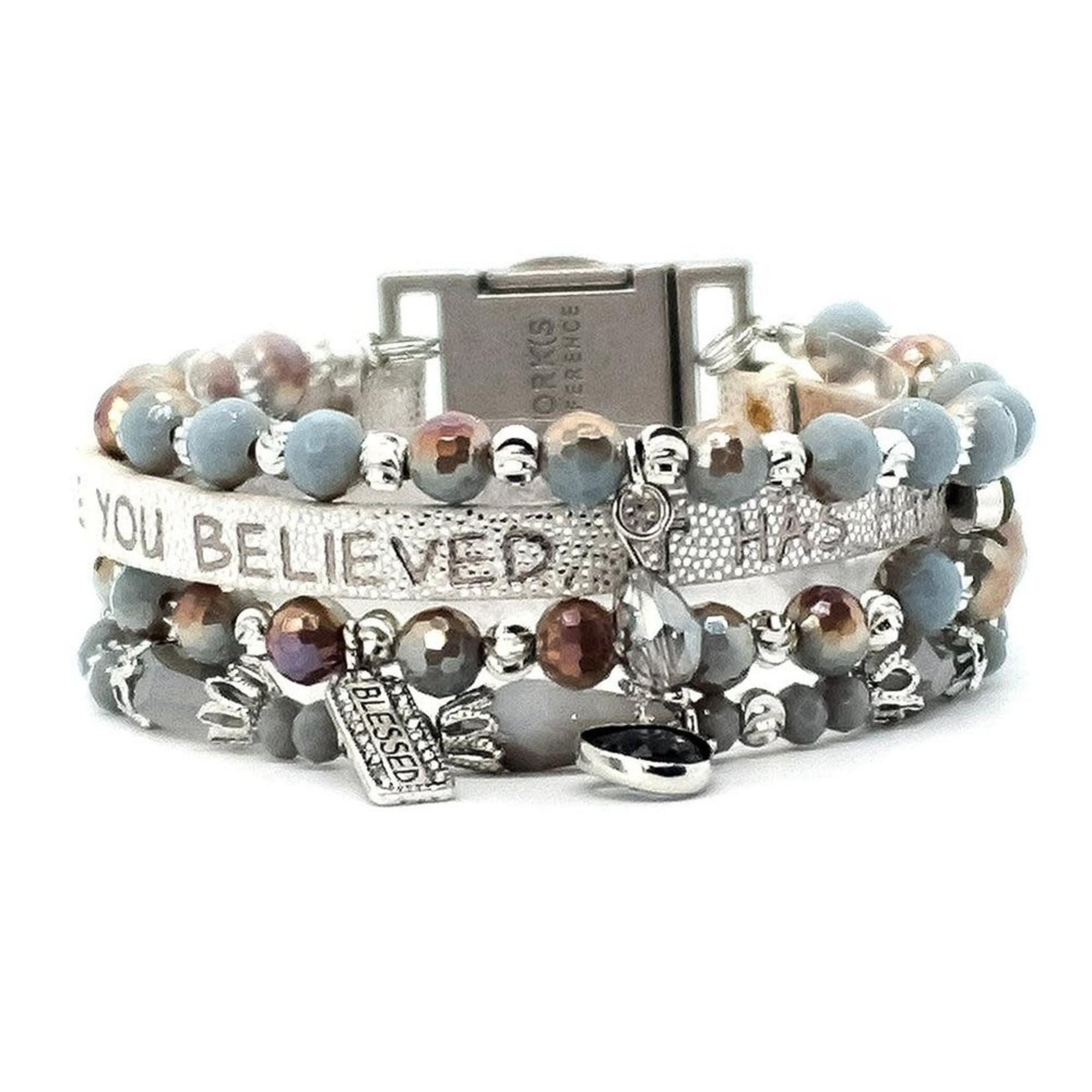 Good Works Praise Quad Bracelet