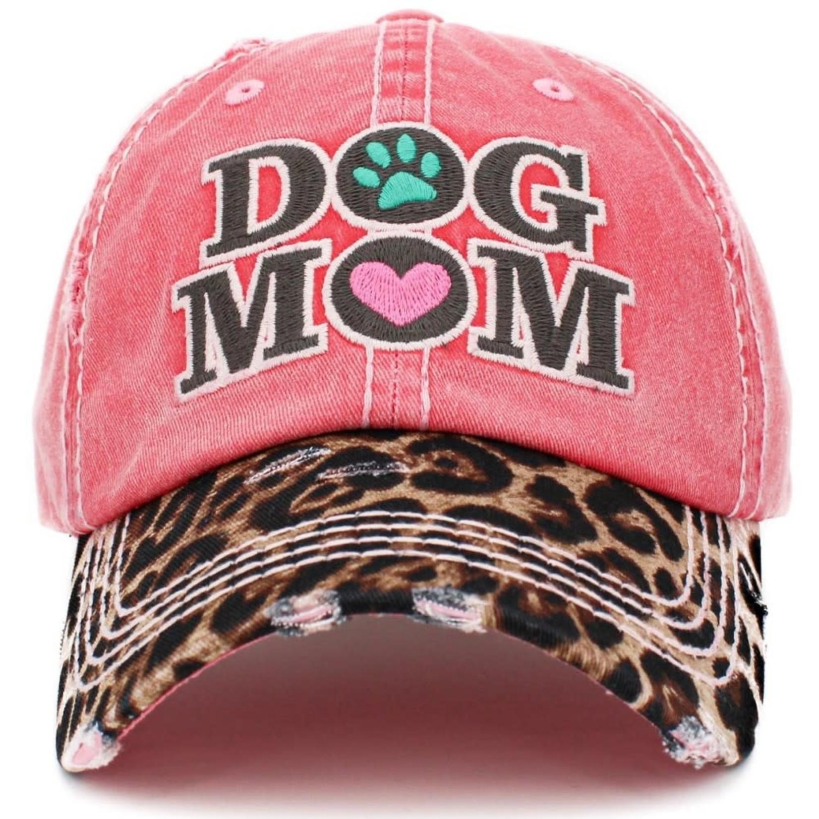 Dog Mom Baseball (pink)