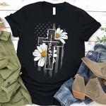 Faith Flag Daisy T-Shirt
