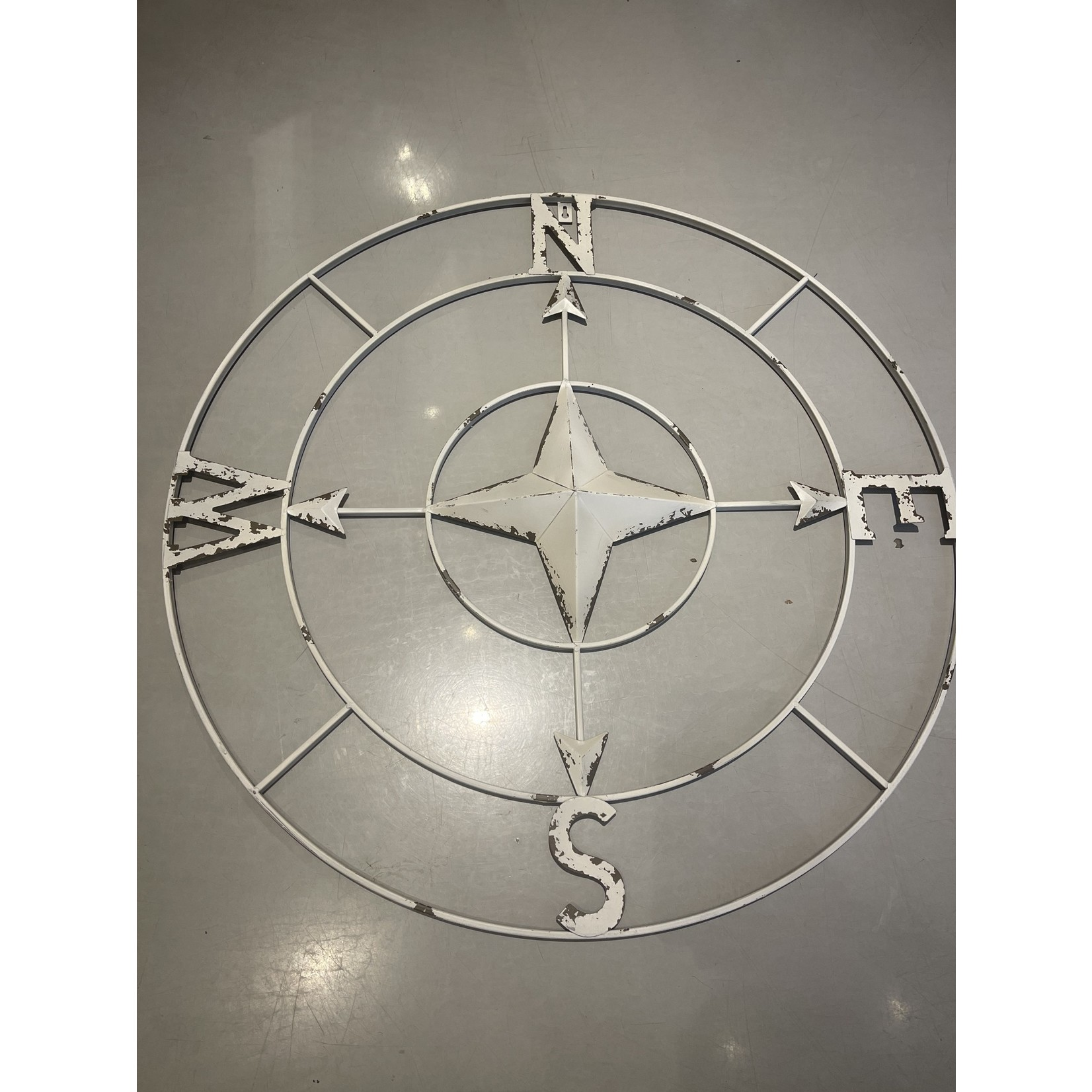 Compass 32 in(Antique White)