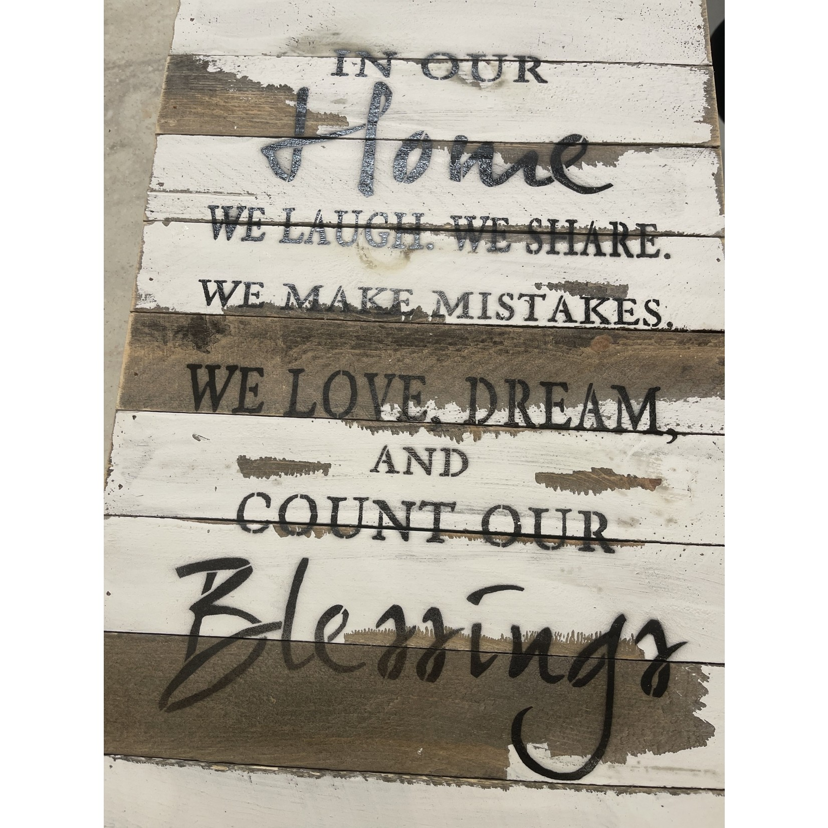 """12"""" x 18"""" In Our Home"""